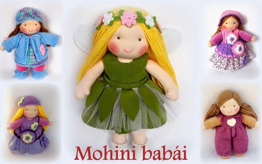 Mohini babái - waldorf inspired rag dolls by Mohini