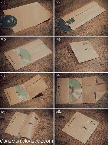 make a cd cover