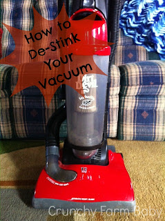 de-stink your vacuum