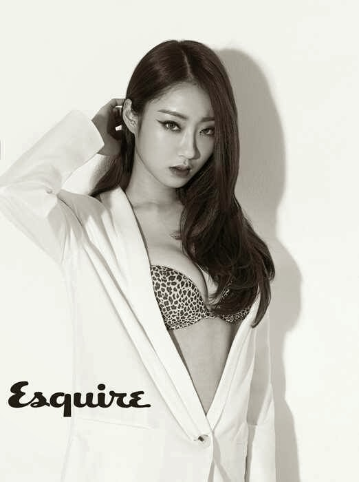 9Muses Kyungri poses in lingerie for new photoshoot