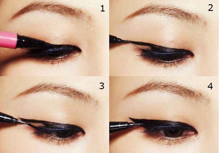 ... click for details cara make up mata memakai eyeliner cara make up