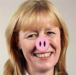 UK Labour MP Joan Ryan caught with her snout in the trough