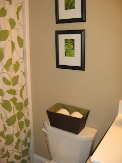 TP Storage in Bathroom