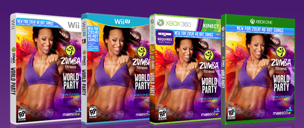 Zumba fitness games for Sideboard zumba