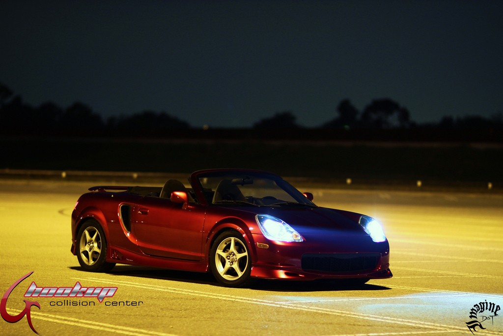 Toyota MR2, MK3, roadster, japoński sportowy samochód, wygląd, zdjęcia, lampy, światła, スポーツカー