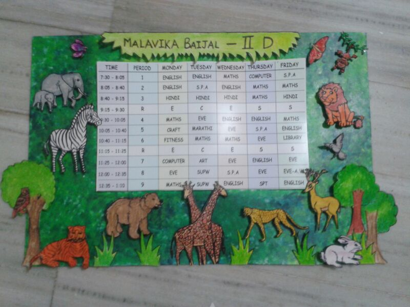 Seed Modular Classroom ~ Classroom time table designs best visual timetable ideas
