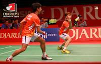 Daftar pemain Indonesia lolos ke babak perempat final Djarum Indonesia Super Series 2013