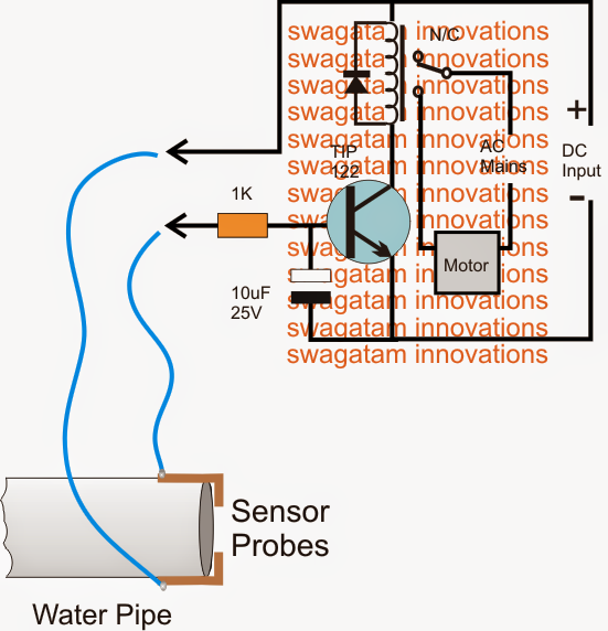 How to Make a Municipal Water Supply Sensor, Pump Controller Circuit
