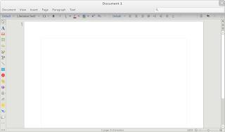 Barra de herramientas de LibreOffice