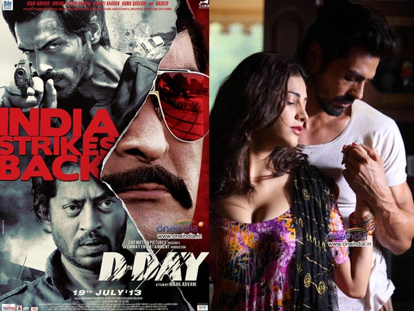 Day Hindi Movie Poster First is d-day and second is