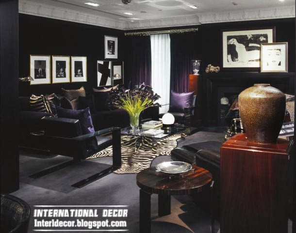 animal prints, art deco style in modern interior design