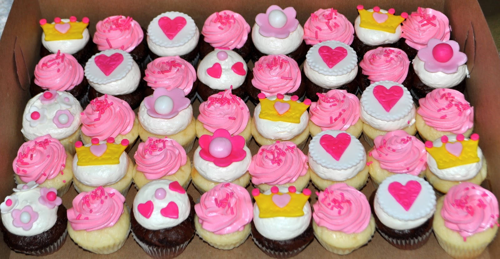 Coolest Cupcakes: Princess Cupcakes