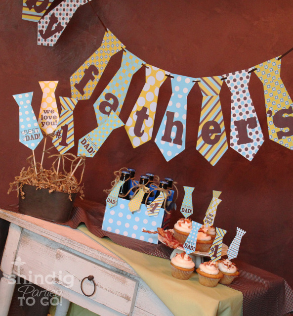 Check Out This Adorable FATHERS DAY PARTY TABLE Styled By Shindig Parties