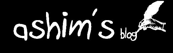 Ashim's Blog
