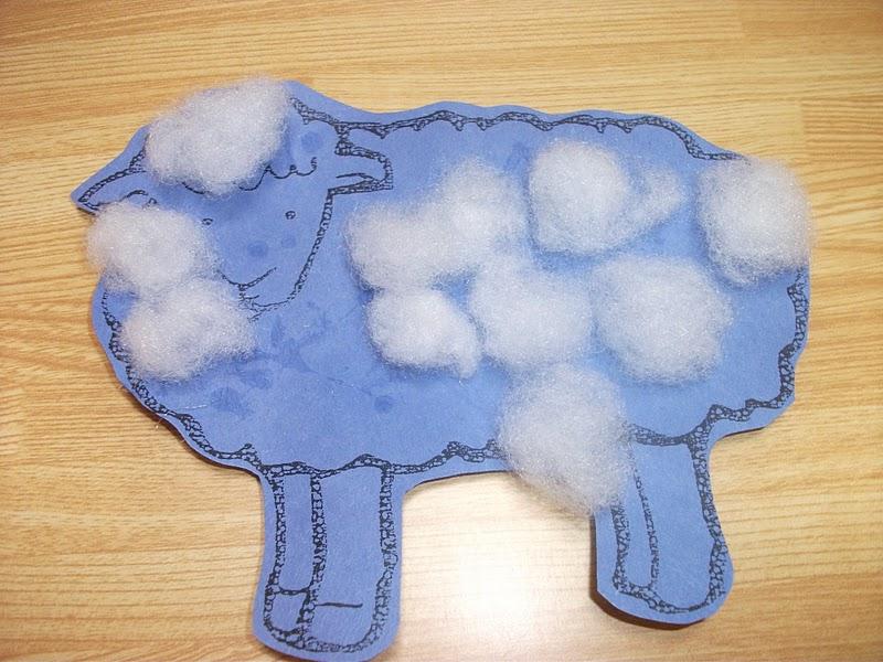 Easy Spring Sheep Paper Craft Preschool Crafts For Kids