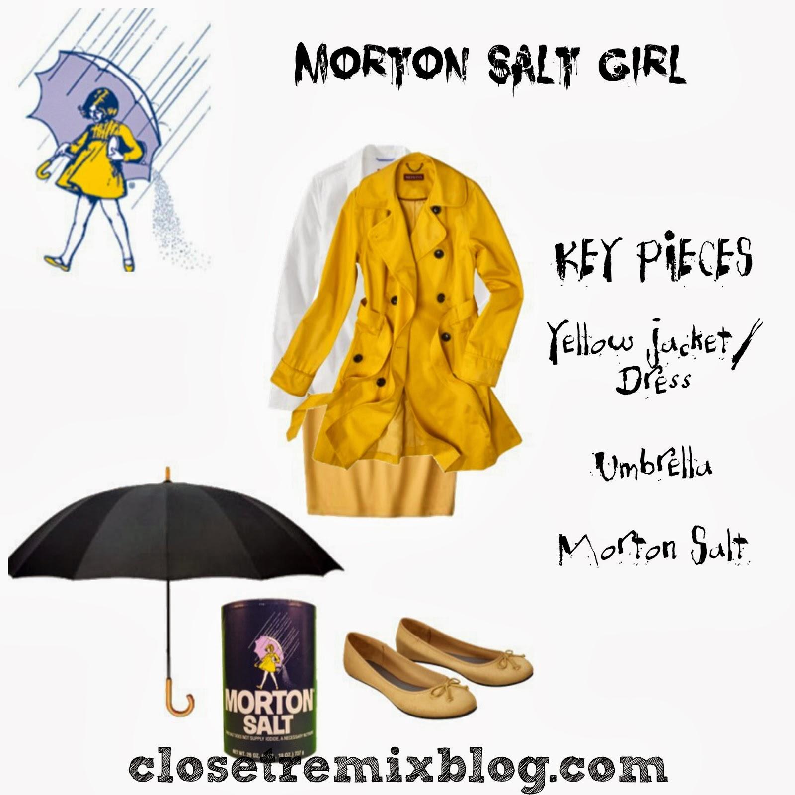 wear yellow grab some morton salt and an umbrella consider yourself halloween ready