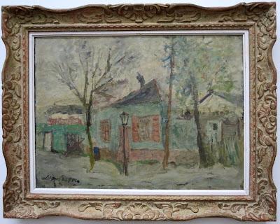 Яков Шапиро, Весенний пейзаж с фонарем, 1930-е
