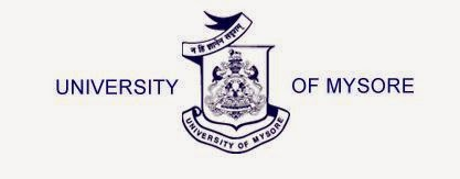 University of Mysore Nov, Dec 2014 Results