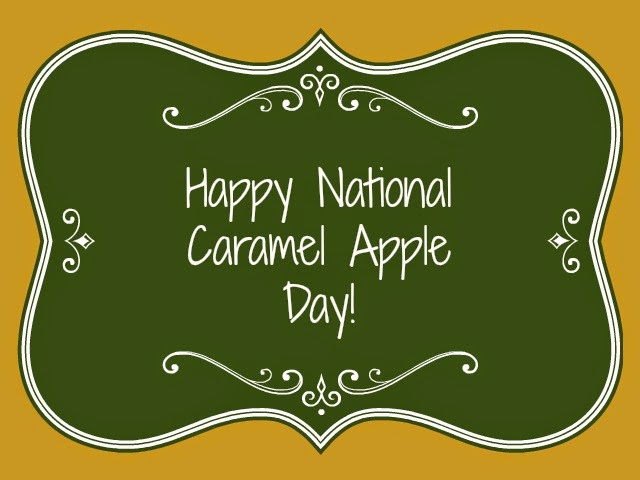 Happy National Caramel Day