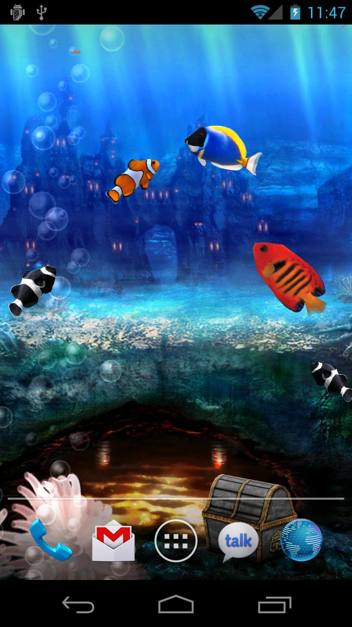 Kittehface Software Aquarium Live Wallpaper V1 7