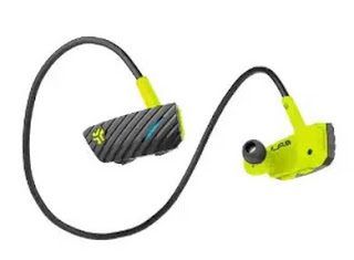 JLab GO Bluetooth Wireless Headphones featured with long-lasting 5 hours of battery life