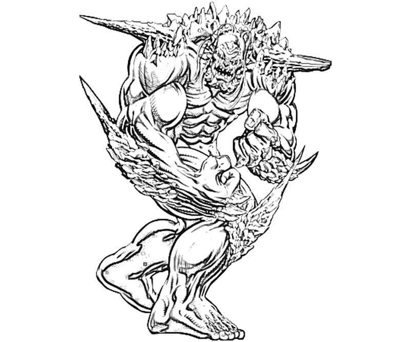 dc-universe-doomsday-ability-coloring-pages