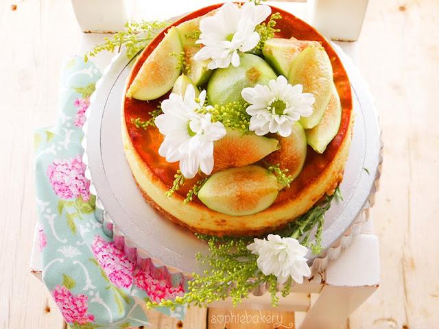 Cheesecake de higos