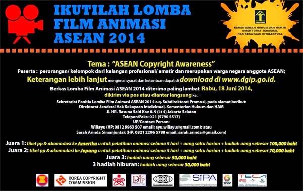 Lomba Film Animasi ASEAN 2014