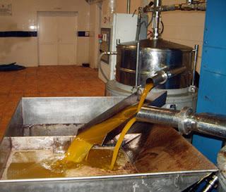 Aceite de oliva centrifugado
