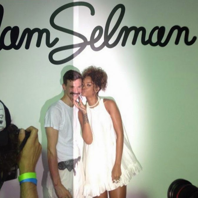 Rihanna Back in New York to support his favorite designer at Fashion Week