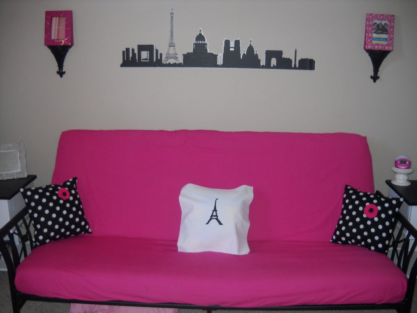 Scoop Suede Hot Pink Futon Chair U2026 June 13 2016