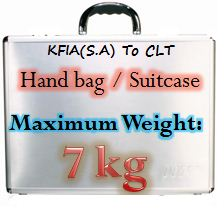 Weight of hand bag Saudi Arabia New Luggage, Baggage rules by Saudi Arabian Airlines from September 2012