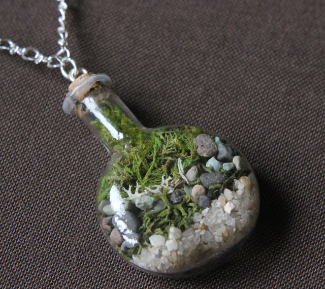 Terrarium Necklaces Craftbnb