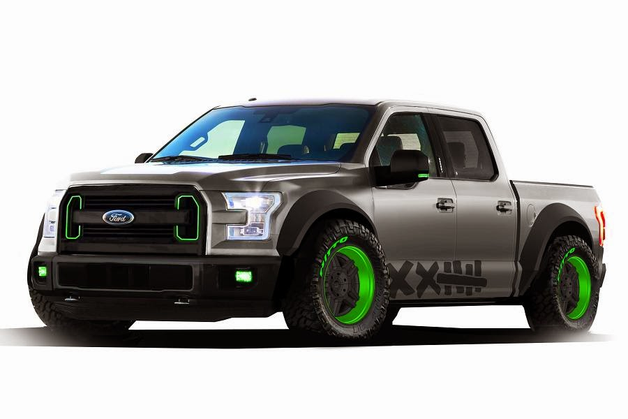 Ford F-150 SuperCrew Vaughn Gittin Jr (2015 Rendering) Front Side