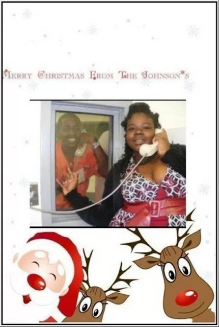 Funny Inmate Christmas Card