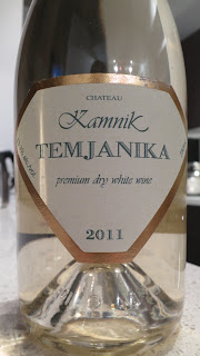 Label photo of 2011 Château Kamnik Temjanika from Skopje, Macedonia