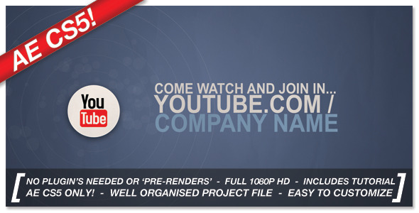 VideoHive Corporate Social Network Ident