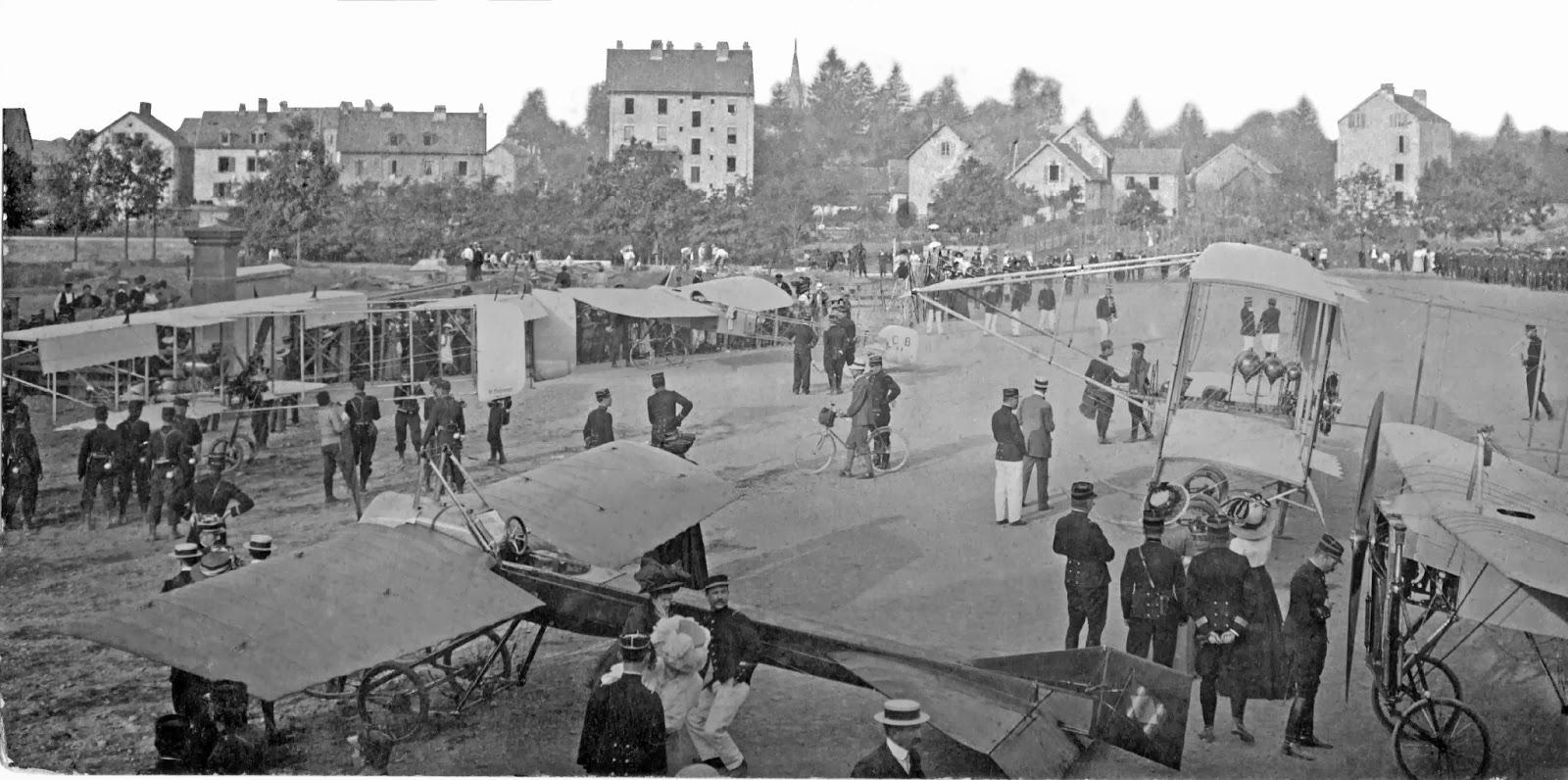 champ de mars Belfort juillet 1909