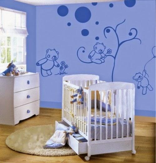 Fotos de decoraci n decorar paredes de ni os - Paredes para ninos ...