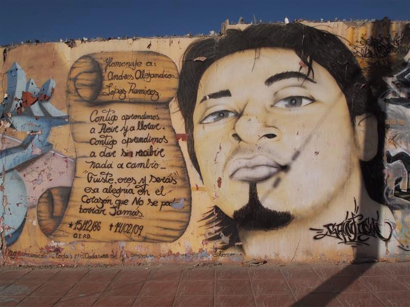 Graffiti de Caldera
