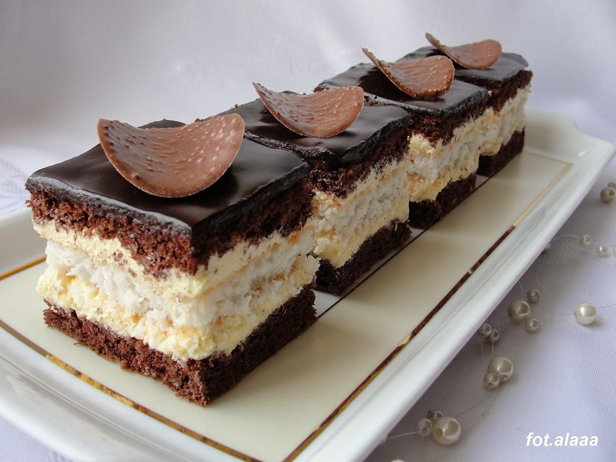 Ciasto Czekoladowo Kokosowe z