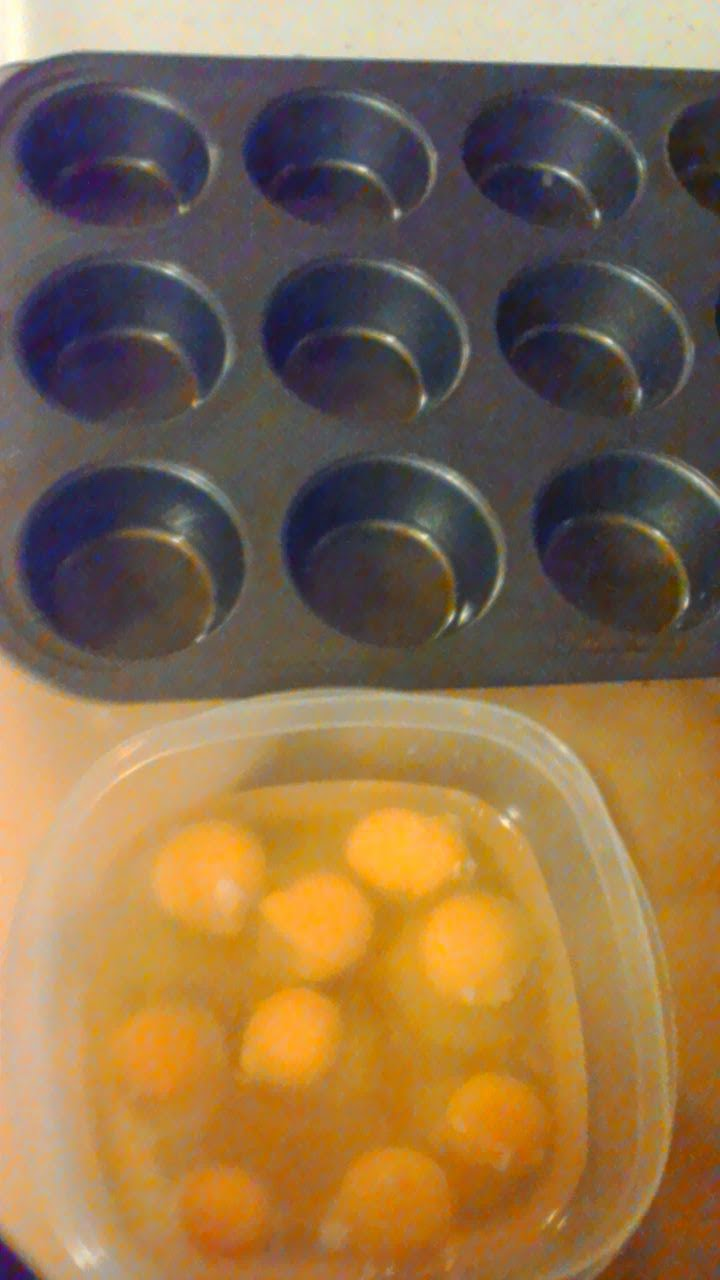 eggs prior to whisking
