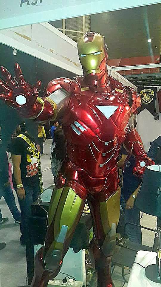 Iron Man Life Size Delhi Comicon