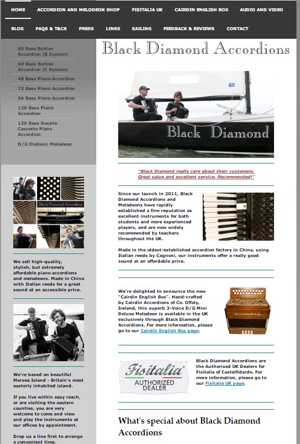 Visit the Black Diamond Accordions Website