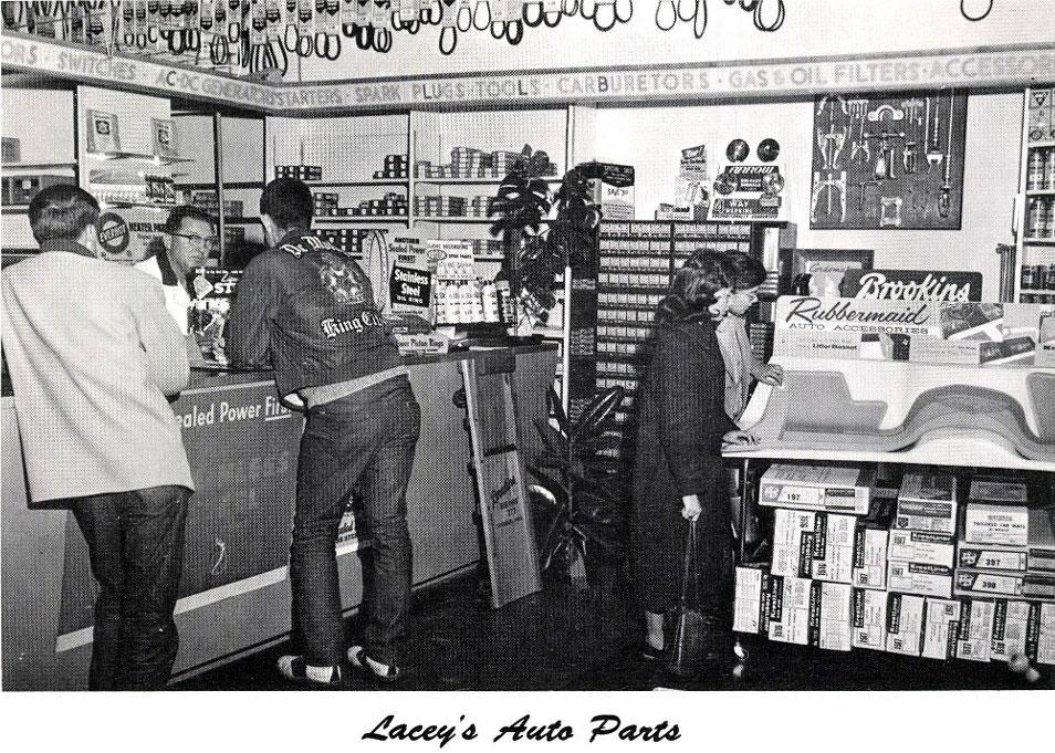 annualmobiles auto parts counter circa 1960. Black Bedroom Furniture Sets. Home Design Ideas