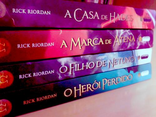 Livros Rick Riordan
