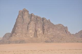 Montaña de los Siete Pilares de la Sabiduria en Wadi Rum