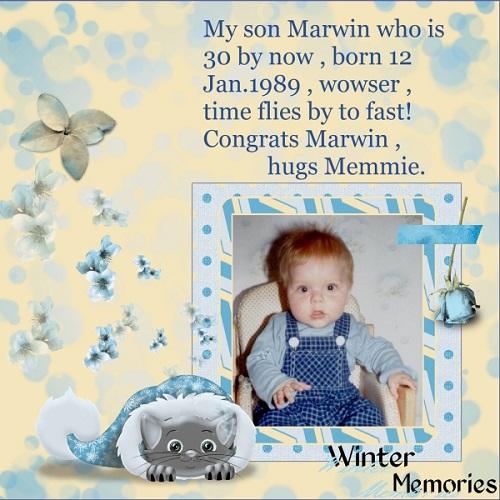 Jan.2019- Happy birthday Marwin