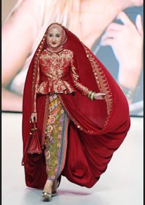 Model Baju Kebaya Muslim Dian Pelangi