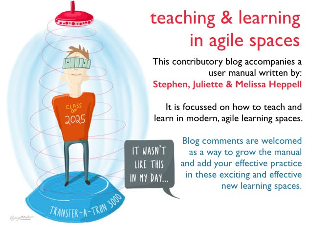 teaching and learning in agile spaces
